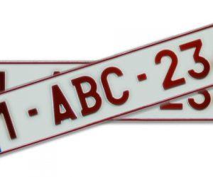 Inschrijving van voertuigen. Aangepaste prijzen voor aanvraag kentekenplaten en inschrijvingsbewijzen vanaf 01.12.2015
